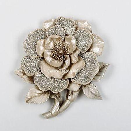 Taşli yildiz çiçeği pano